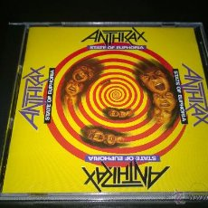 CDs de Música: ANTHRAX - STATE OF EUPHORIA. Lote 47350042