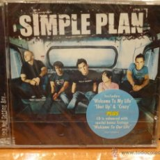 CDs de Música: SIMPLE PLAN. STILL NOT GETTING ANY - CD / LAVA RECORDS - 2004. 11 TEMAS + BONUS. PRECINTADO.. Lote 47352434