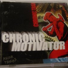 CDs de Música: CHRONIC MOTIVATOR VOL. 1. CHRONIC TRAX. KILLER TRACS. CD . IMPECABLE (#). Lote 47365175