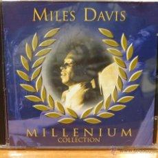 CDs de Música: MILES DAVIS. MILLENIUM COLLECTION. DOBLE CD / SAAR SRL - 2000. 36 TEMAS - CALIDAD LUJO. / DIFÍCIL.. Lote 47366699