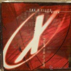CDs de Música: B.S.O. !! THE X FILES. THE ALBUM. FIGHT THE FUTURE / CD / ELEKTRA - 1998. 16 TEMAS. CALIDAD LUJO.. Lote 47370303