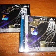 CDs de Música: TECHNICS CLUBBER´S EDITION MIXED BY TONI BALI 2 CD EDICION LIMITADA Nº 7888-10000 CD´S DORADOS 2003. Lote 47378863