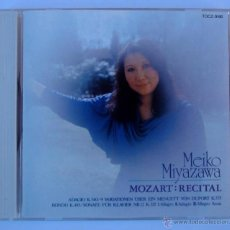 CDs de Música: MEIKO MIYAZAWA - MOZART RECITAL (CD) JAPAN TOSHIBA. Lote 47383746