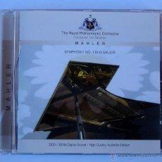 CDs de Música: YURI SIMONOV - THE ROYAL PHILHARMONIC ORCHESTRA - MAHLER (CD) AUDIOFILE EDITION. Lote 47383833