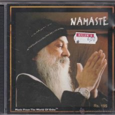CDs de Música: NAMASTE - MUSIC FROM THE WORLD OF OSHO. Lote 47775266