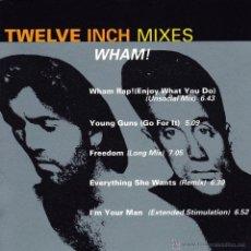 CDs de Música: WHAM! - THE TWELVE INCH MIXES - CD. Lote 47420251