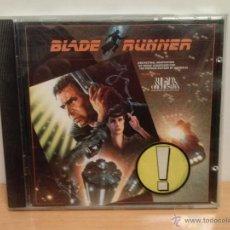 CDs de Música: BLADE RUNNER-CD ORIGINAL 1982 B.S.O. DEL FILM.. Lote 47423764