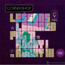 CDs de Música: CORNERSHOP - LESSONS LEARNED FROM ROCKY I TO ROCKY III. Lote 47430339