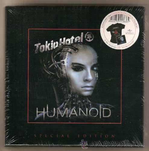 TOKIO HOTEL * BOX HUMANOID * CD+CAMISETA + CAJA EDICIÓN MUY LIMITADA * PRECINTADA!! (Música - CD's Pop)
