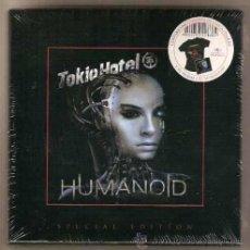 CDs de Música: TOKIO HOTEL * BOX HUMANOID * CD+CAMISETA + CAJA EDICIÓN MUY LIMITADA * PRECINTADA!!. Lote 47460331