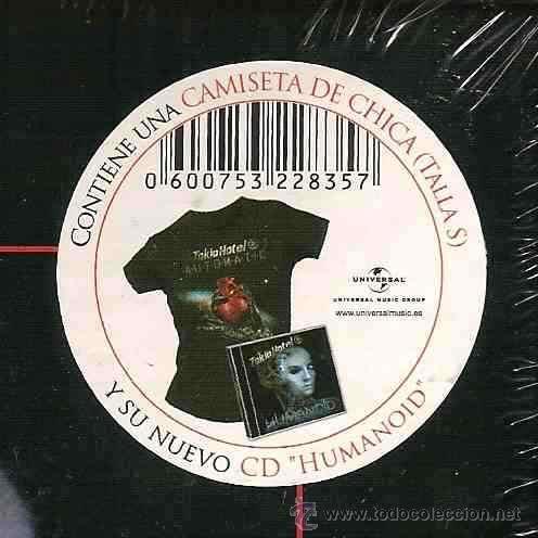 CDs de Música: TOKIO HOTEL * BOX HUMANOID * CD+CAMISETA + CAJA edición muy limitada * Precintada!! - Foto 3 - 47460331