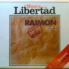 CDs de Música: RAIMON. EL RECITAL DE MADRID, LA MÚSICA DE LA LIBERTAD. CD NUEVO Y AÚN PRECINTADO. Lote 47474774