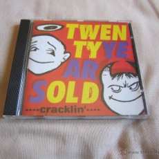 CDs de Música: TWENTY YEARS OLD - CRACKLIN' CD - PUNK ROCK POP. Lote 47509000