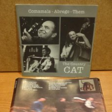 CDs de Música: CARÁTULA FIRMADA. THE COUNTRY CAT ( COMAMALA, ABREGO, THEM ) SIN CD !! MUY BUENA CALIDAD.. Lote 47512816