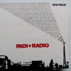 CDs de Música: INDI RADIO. VOL.1. 4 CD PACK. 4 CD'S EL DIABLO EDD130CD. ESPAÑA 2004. LORI MEYERS. DELOREAN. DELUXE.. Lote 47516309