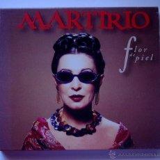 CDs de Música: MARTIRIO - FLOR DE PIEL (CD) RAUL RODRIGUEZ. Lote 47521075