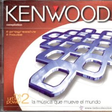CDs de Música: . CD CD DOBLE KENWOOD COMPILATION. Lote 47528074