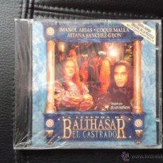 CDs de Música: CD NUEVO PRECINTADO CINE FILM LA LEYENDA DE BALTHASAR EL CASTRADO MARIO DE BENITO. Lote 49218959