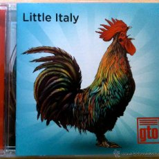 CDs de Música: LITTLE ITALY, GTO - CD. Lote 47561495