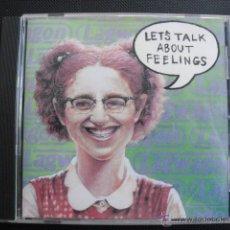 CDs de Música: LET´S TALK ABOUT FEELINGS. CD.. Lote 47561575