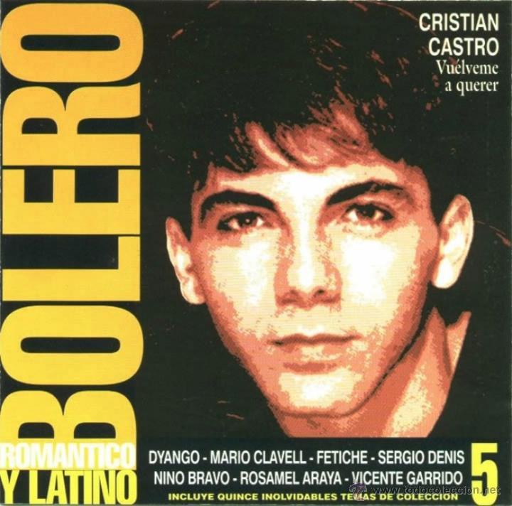 CD DE ARTISTAS VARIOS BOLERO ROMÁNTICO Y LATINO VOLUMEN 5 AÑO 2000 (Música - CD's Latina)