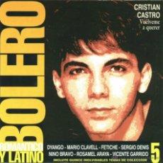CDs de Música: CD DE ARTISTAS VARIOS BOLERO ROMÁNTICO Y LATINO VOLUMEN 5 AÑO 2000. Lote 47561814