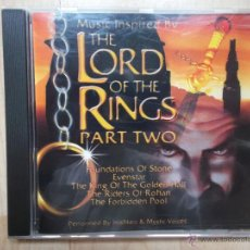 CDs de Música: THE LORD OF THE RINGS PART TWO MILLENNIUM GOLD 2003. Lote 47585171