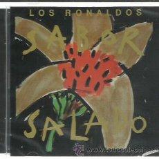 CDs de Música: RONALDOS - SABOR SALADO (1990) - CD EMI 2014 NUEVO. Lote 47585961