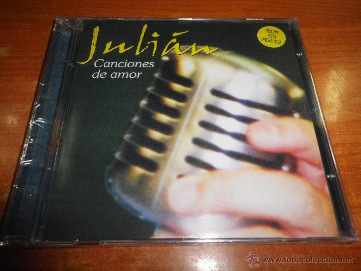 JULIAN CAMACHO CANCIONES DE AMOR CD ALBUM PRECINTADO DEL AÑO 2001 CONTIENE 10 TEMAS (Música - CD's Melódica )