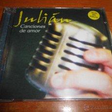 CDs de Música: JULIAN CAMACHO CANCIONES DE AMOR CD ALBUM PRECINTADO DEL AÑO 2001 CONTIENE 10 TEMAS. Lote 47612620