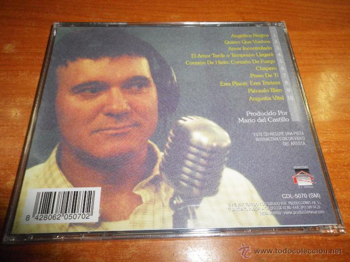 CDs de Música: JULIAN CAMACHO Canciones de amor CD ALBUM PRECINTADO DEL AÑO 2001 CONTIENE 10 TEMAS - Foto 2 - 47612620