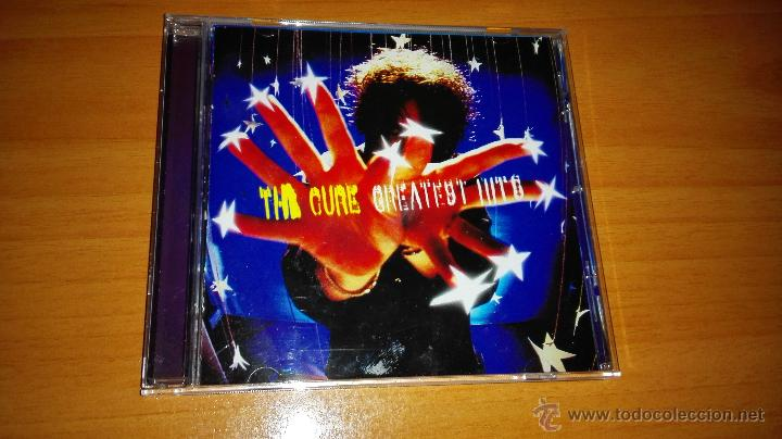 CD THE CURE , GREATEST HITS (Música - CD's Rock)