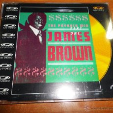CDs de Música: JAMES BROWN THE PAYBACK MIX PART ONE CD VIDEO SINGLE LASER DISC 4 AUDIO TRACKS + 1 VIDEO CD DORADO. Lote 47641783