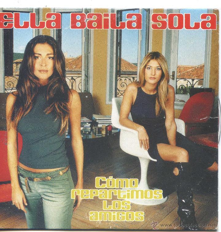 ELLA BAILA SOLA / COMO REPARTIMOS LOS AMIGOS (CD SINGLE CARTON 2000) (Música - CD's Pop)