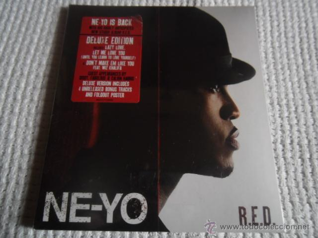 NE-YO - '' R.E.D. '' CD DELUXE EDITION 4 UNRELEASED BONUS + POSTER SEALED (Música - CD's Jazz, Blues, Soul y Gospel)