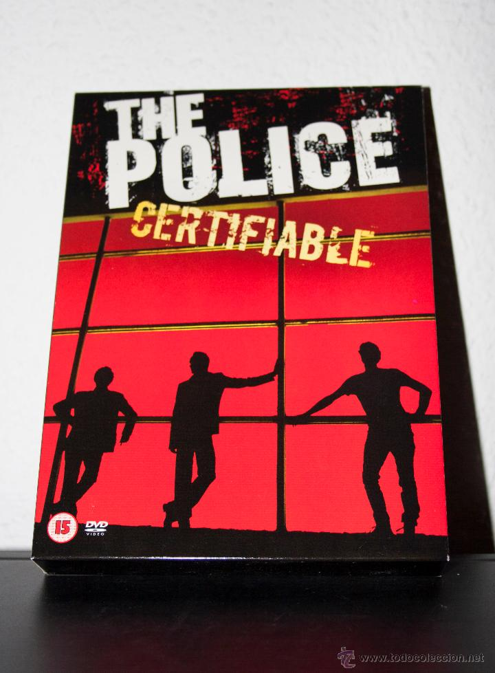 THE POLICE - CERTIFIABLE (Música - CD's Rock)