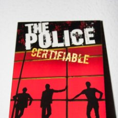 CDs de Música: THE POLICE - CERTIFIABLE. Lote 47698536