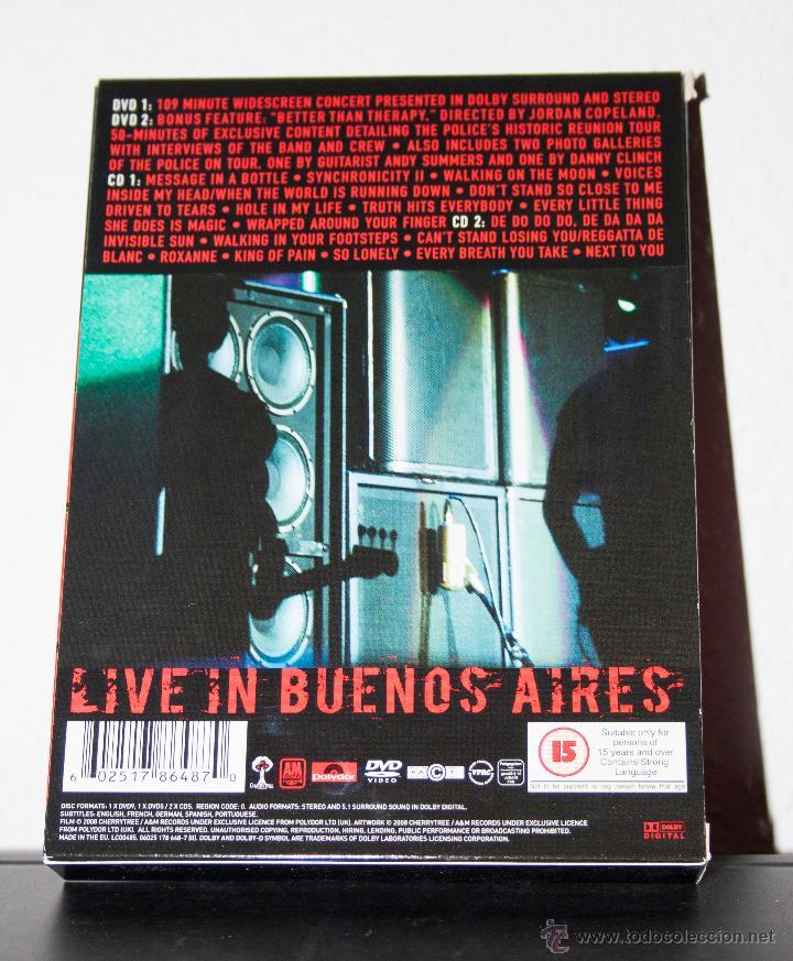 CDs de Música: THE POLICE - CERTIFIABLE - Foto 2 - 47698536