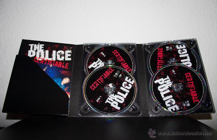 CDs de Música: THE POLICE - CERTIFIABLE - Foto 3 - 47698536