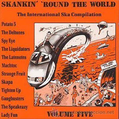 SKANKIN ROUND THE WORLD VOLUME FIVE (Música - CD's Reggae)