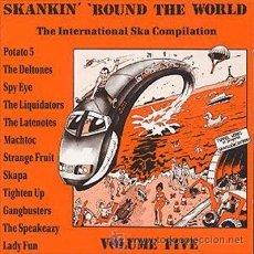 CDs de Música: SKANKIN ROUND THE WORLD VOLUME FIVE. Lote 47707010