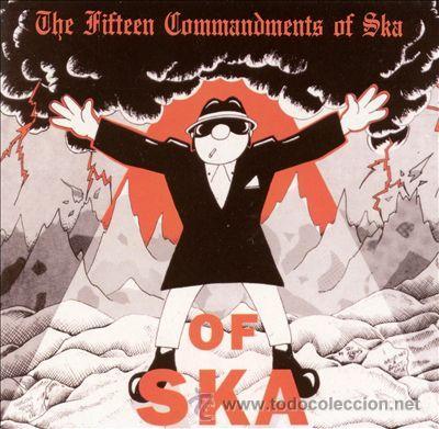 THE FITTEEN COMMANDMENTS OF SKA (Música - CD's Reggae)