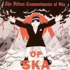 CDs de Música: THE FITTEEN COMMANDMENTS OF SKA. Lote 47707084