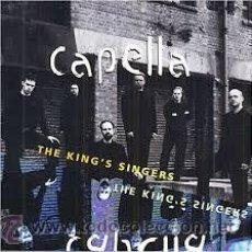 CDs de Música: THE KING'S SINGERS - CAPELLA-CD DOBLE. Lote 47707270
