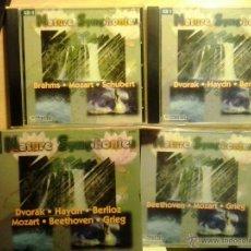 CDs de Música: NATURE SYMPHONIES-ESTUCHE CON 3 CDS, CON 25 GRANDES OBRAS CLÁSICAS. Lote 47707705