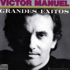 CDs de Música: VICTOR MANUEL - GRANDES EXITOS - CD. Lote 47713036