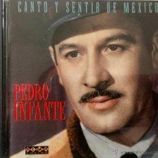 CDs de Música: PEDRO INFANTE - CANTO Y SENTIR DE MÉXICO - 20 TRACKS. Lote 47752749