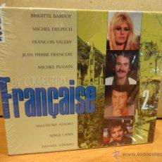 CDs de Música: LA COLLECTION FRANÇAISE. VOL 2. 4 CD-BOX / DISKY - 1992. PRECINTADO. 56 TEMAS - LUJO.. Lote 47782815