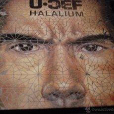 CDs de Música: U - CEF. HALALIUM. CD 1999. EDICION EXTRANJERA. . Lote 47784909
