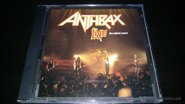 ANTHRAX - LIVE - THE ISLAND YEARS (Música - CD's Heavy Metal)